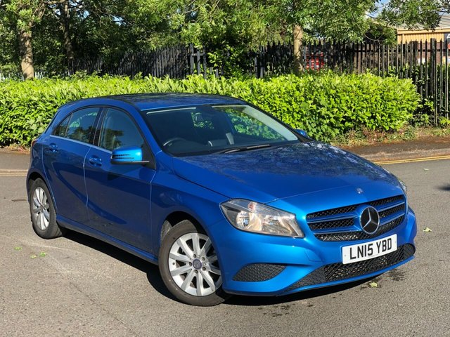 2015 15 MERCEDES-BENZ A-CLASS 1.5 A180 CDI BLUEEFFICIENCY SE 5d 109 BHP