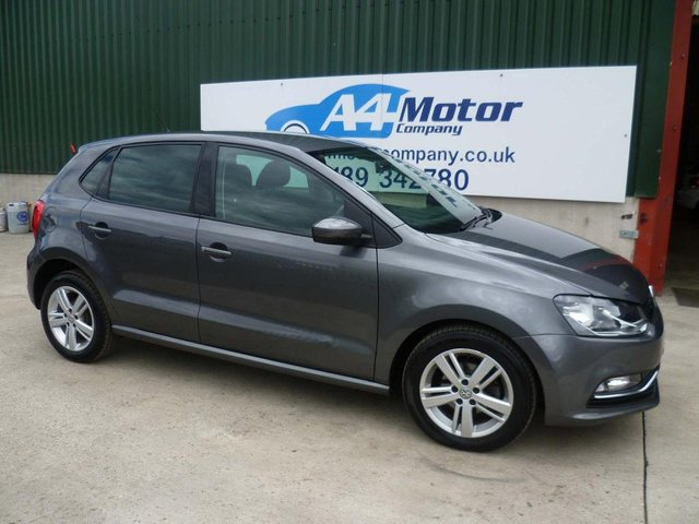 2016 16 VOLKSWAGEN POLO 1.4 TDI BlueMotion Tech Match (s/s) 5dr
