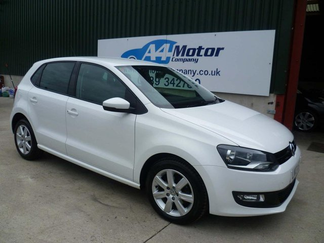 2013 13 VOLKSWAGEN POLO 1.2 Match 5dr