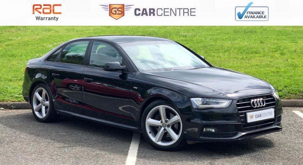 USED 2013 13 AUDI A4 1.8 TFSI S line 4dr 2 owners+18' Alloys+Black Pack