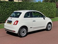 USED 2015 65 FIAT 500 1.2 8V Lounge (s/s) 3dr LOW MILES+F/S/H +PANROOF+BlueT