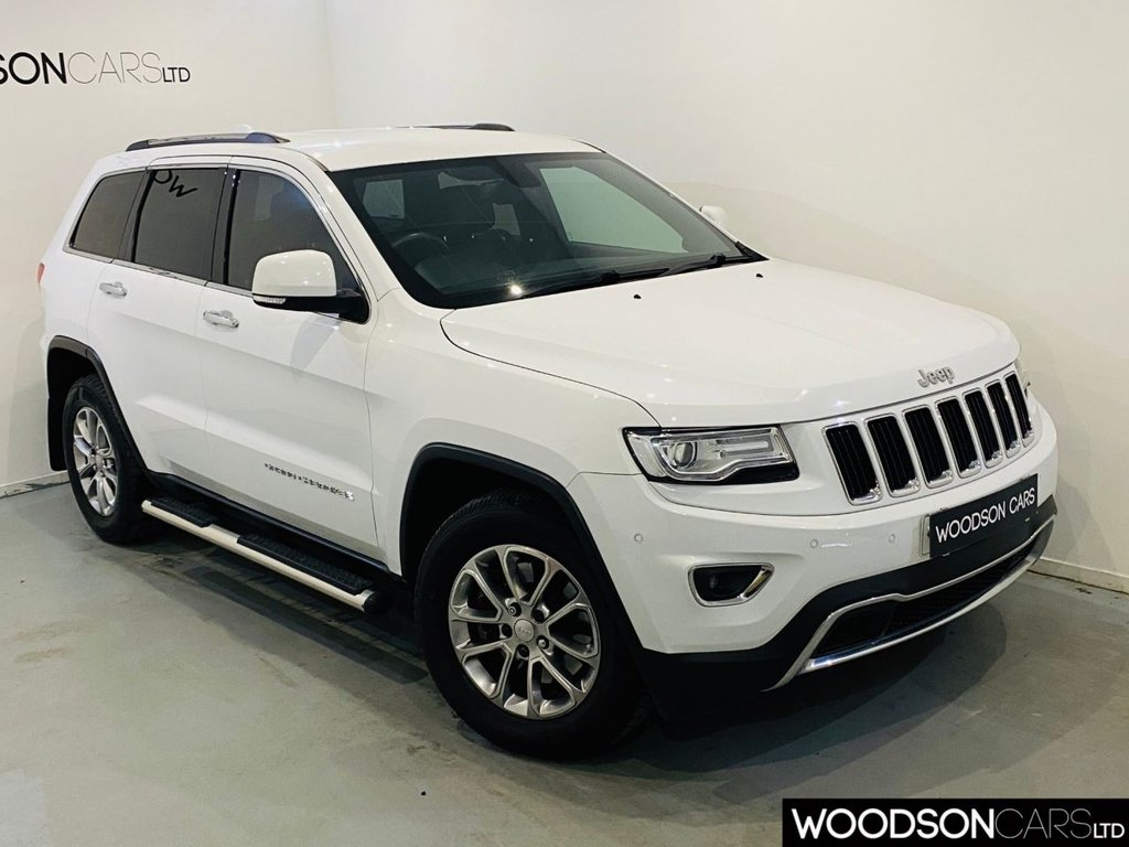 USED 2014 64 JEEP GRAND CHEROKEE 3.0 V6 CRD LIMITED 5d 247 BHP FSH / 2 Previous Owners / Side Steps / Privacy Glass / Bluetooth