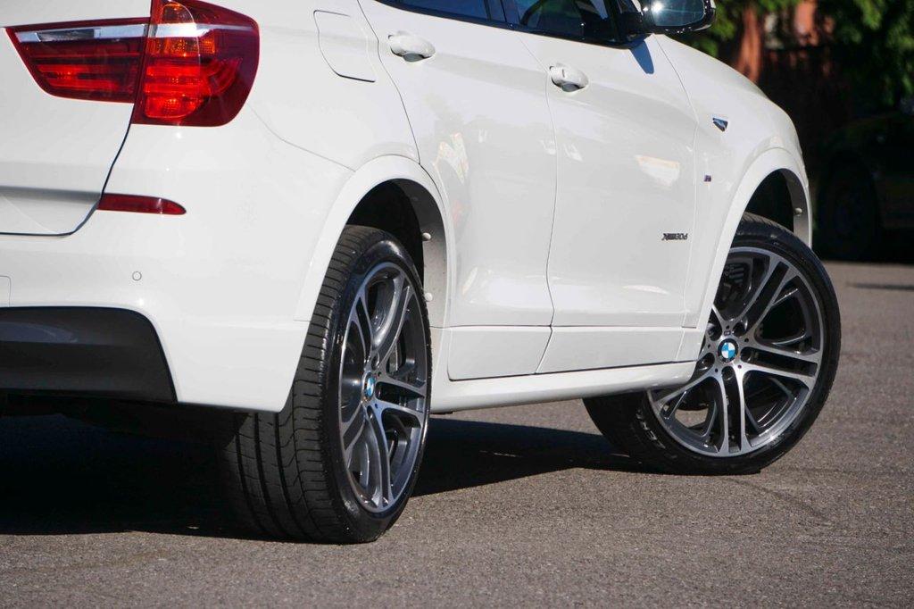 USED 2016 66 BMW X3 3.0 XDRIVE30D M SPORT 5d 255 BHP Heads Up Display HK Sound FBMWSH