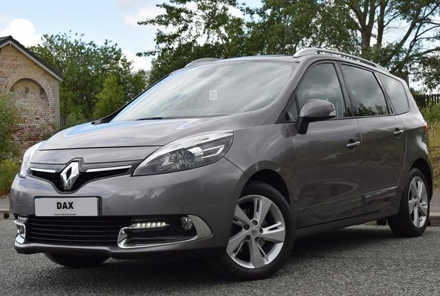 2014 64 RENAULT GRAND SCENIC 1.5 DYNAMIQUE TOMTOM ENERGY DCI S/S 5d 110 BHP