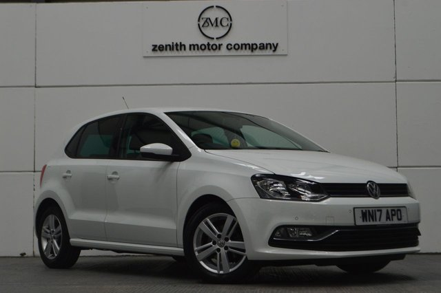 2017 17 VOLKSWAGEN POLO 1.2 MATCH EDITION TSI 5d 89 BHP