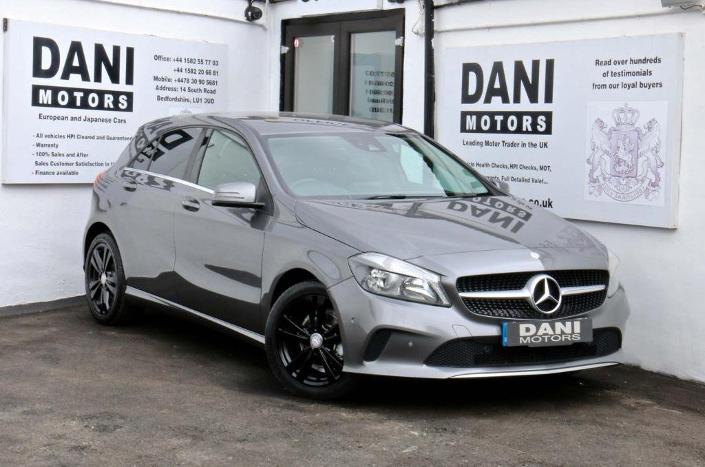 USED 2017 66 MERCEDES-BENZ A-CLASS 1.5 A180d Sport 7G-DCT (s/s) 5dr 1 OWNER*REV CAMERA*BLUETOOTH