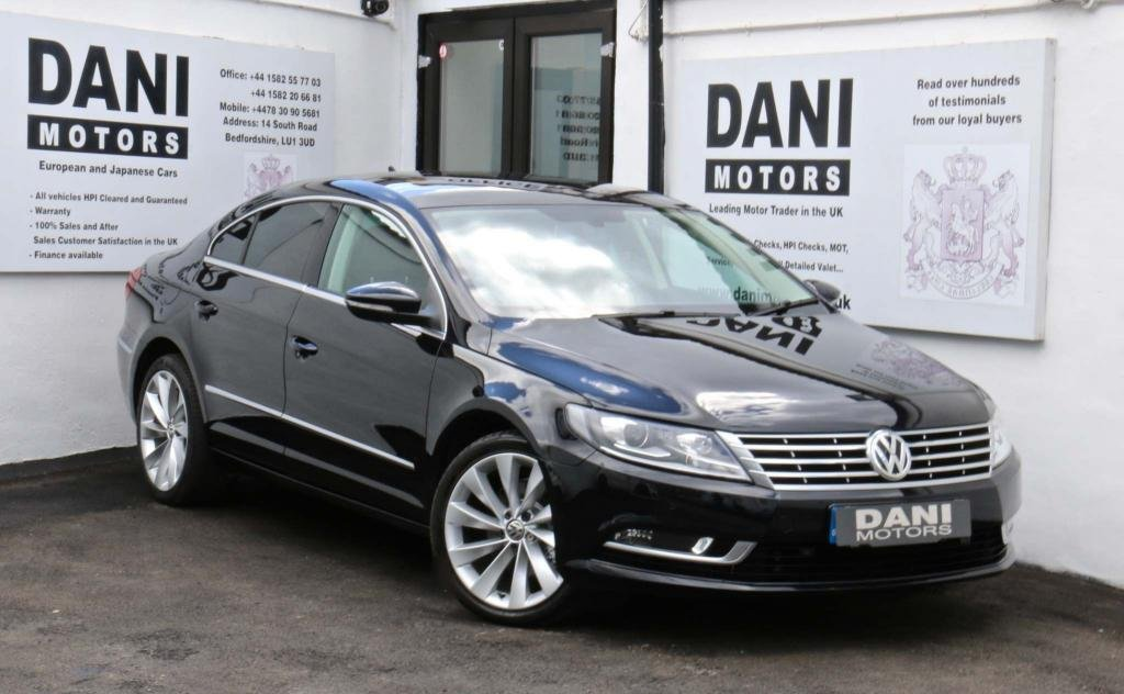 USED 2015 15 VOLKSWAGEN CC 2.0 TDI BlueMotion Tech GT Black Edition DSG 4dr *SATNAV*PARKING AID*XENONS*