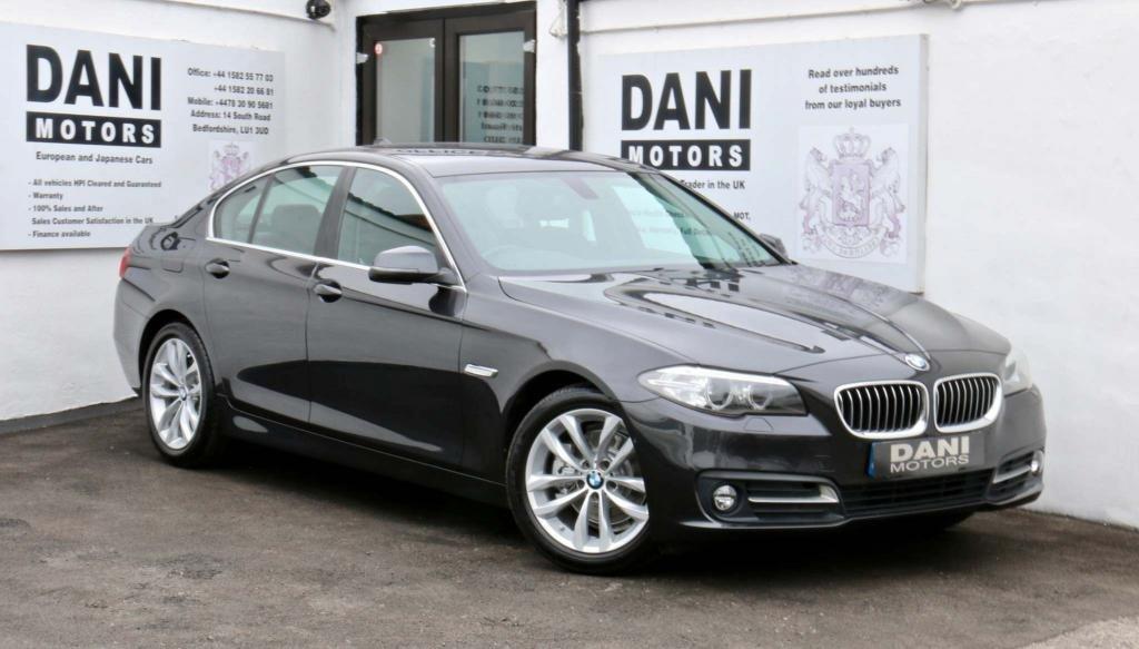 USED 2016 16 BMW 5 SERIES 2.0 520d SE 4dr 1 OWNER*360 CAMERA*SATNAV