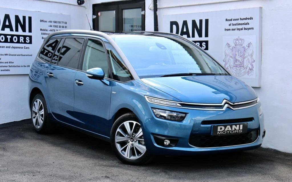 USED 2016 16 CITROEN C4 GRAND PICASSO 1.6 BlueHDi Exclusive+ EAT6 (s/s) 5dr 1 OWNER*SATNAV*REV CAMERA