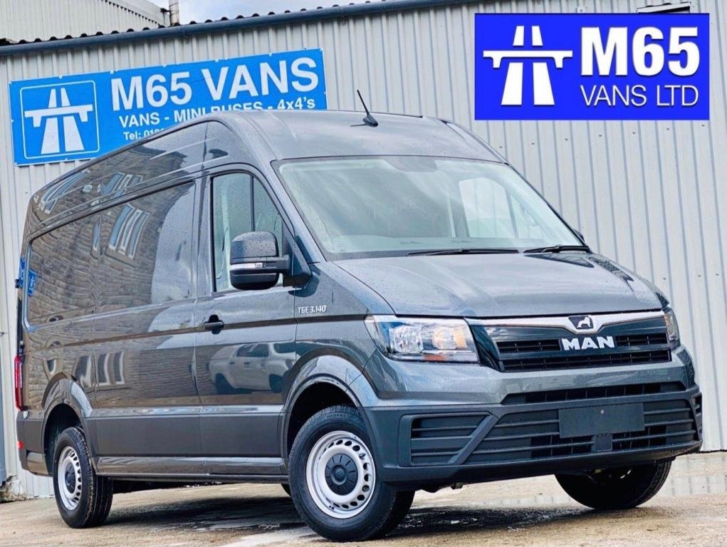 USED 2020 MAN TGE BRAND NEW 140 PS METALLIC GREY MEDIUM AIR CON - CRUISE - 140PS