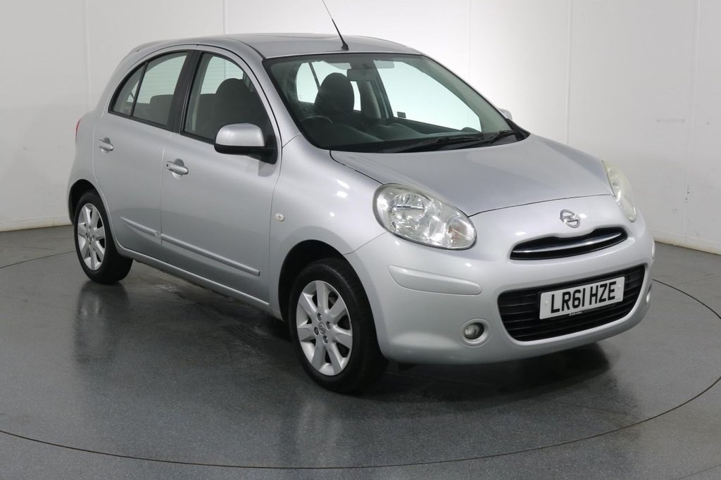 USED 2011 61 NISSAN MICRA 1.2 ACENTA 5d 79 BHP BLUETOOTH I £30 TAX I AIR CON