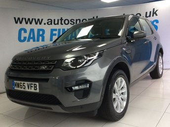 2015 LAND ROVER DISCOVERY SPORT 2.0 TD4 SE TECH 5d 180 BHP £18500.00