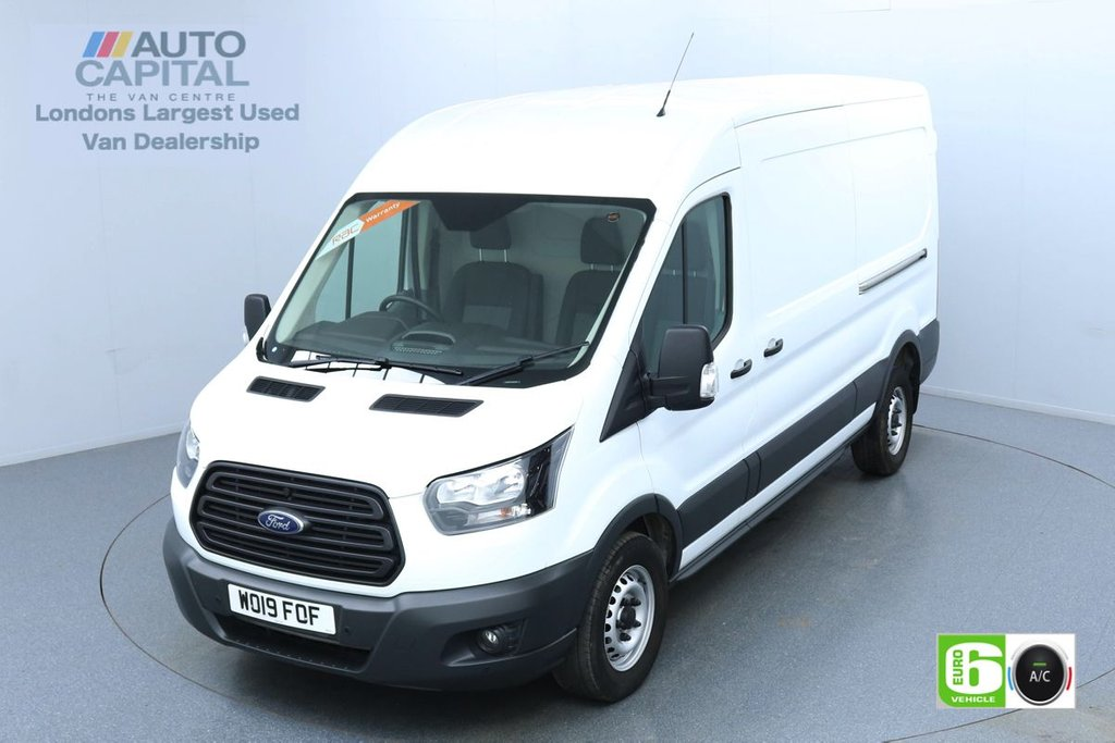 USED 2019 19 FORD TRANSIT 2.0 350 L3 H2 Auto 130 BHP Euro 6 Low Emission Finance Available Online | UK Delivery | Automatic | Air Con | Start-Stop