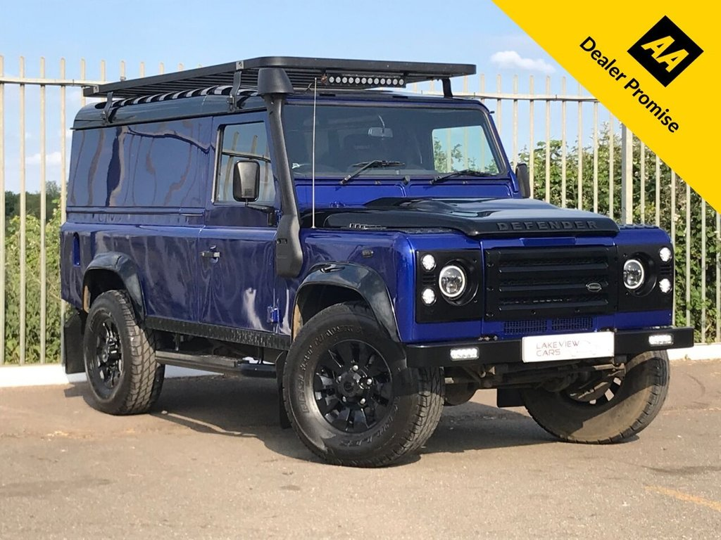 USED 2010 10 LAND ROVER DEFENDER 2.4 110 DCB HARD TOP LWB 2d 121 BHP ** A ONE OFF VEHICLE **