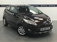 USED 2008 58 FORD FIESTA 1.2 ZETEC 3d 80 BHP (AIR CON - LOW INSURANCE)
