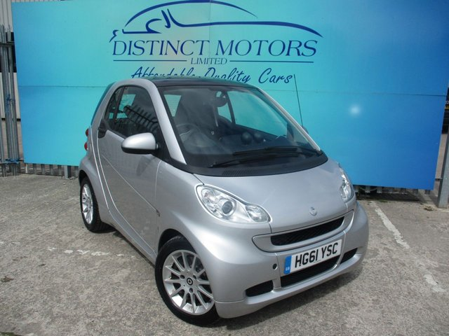 USED 2012 61 SMART FORTWO 1.0 PASSION MHD 2d 71 BHP