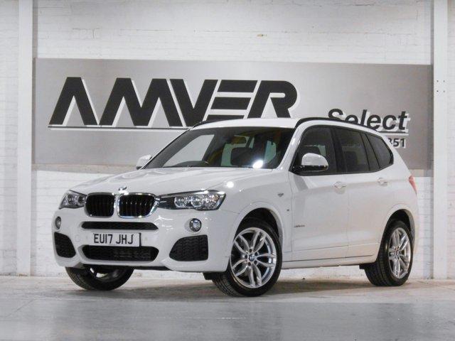 2017 17 BMW X3 2.0 XDRIVE20D M SPORT 5d 188 BHP