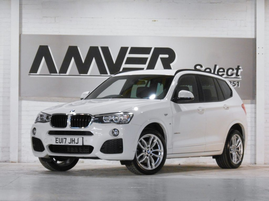 USED 2017 17 BMW X3 2.0 XDRIVE20D M SPORT 5d 188 BHP