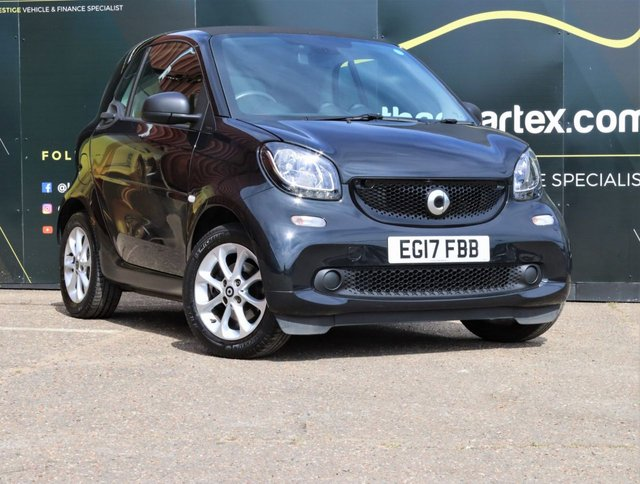 2017 17 SMART FORTWO 1.0 PASSION 11,000 MILES FULL HISTORY 2d 71 BHP