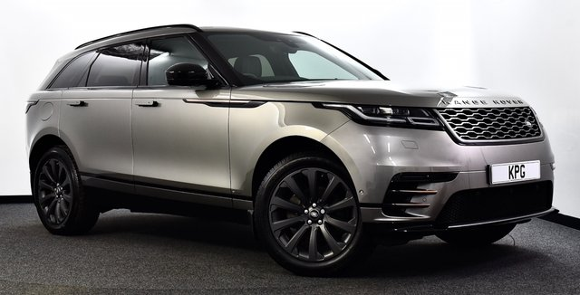 USED 2018 18 LAND ROVER RANGE ROVER VELAR 2.0 D240 R-Dynamic SE Auto 4WD (s/s) 5dr Pan Roof, Matrix LED's + More!