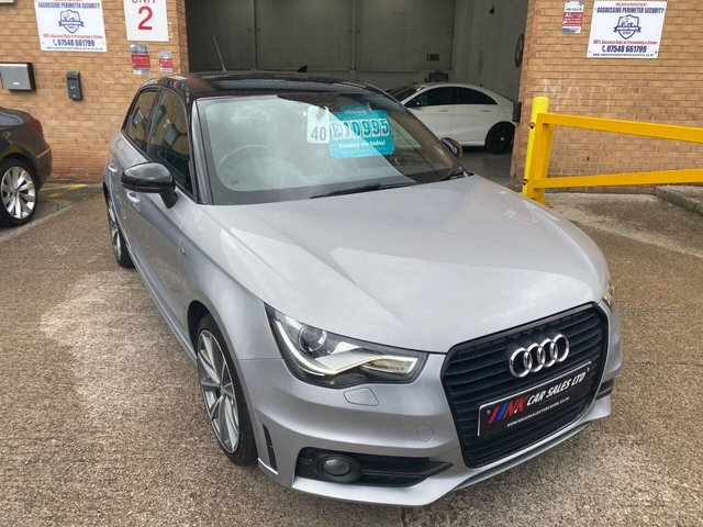 2014 64 AUDI A1 1.4 SPORTBACK TFSI S LINE STYLE EDITION 5d 121 BHP SOLD  TO TRACEY FROM ROTHERHAM