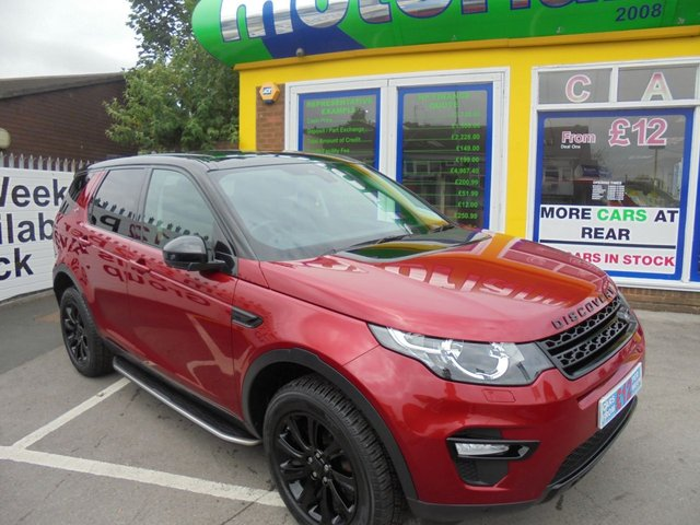 USED 2015 15 LAND ROVER DISCOVERY SPORT 2.2 SD4 SE TECH 5d 190 BHP JUST ARRIVED DIESEL 7 SEATER AUTO SAT NAV
