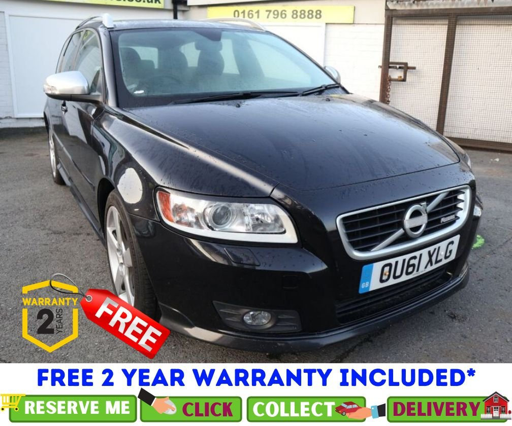 USED 2011 61 VOLVO V50 2.0 D3 R-DESIGN EDITION 5d 148 BHP *CLICK & COLLECT OR DELIVERY