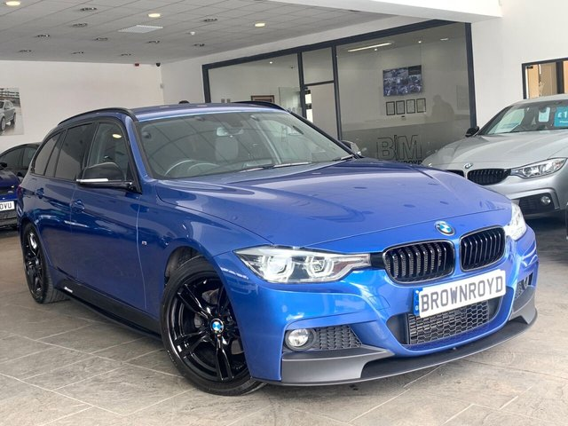USED 2018 18 BMW 3 SERIES 2.0 320D M SPORT TOURING 5d 188 BHP BM PERFORMANCE STYLING+6.9%APR
