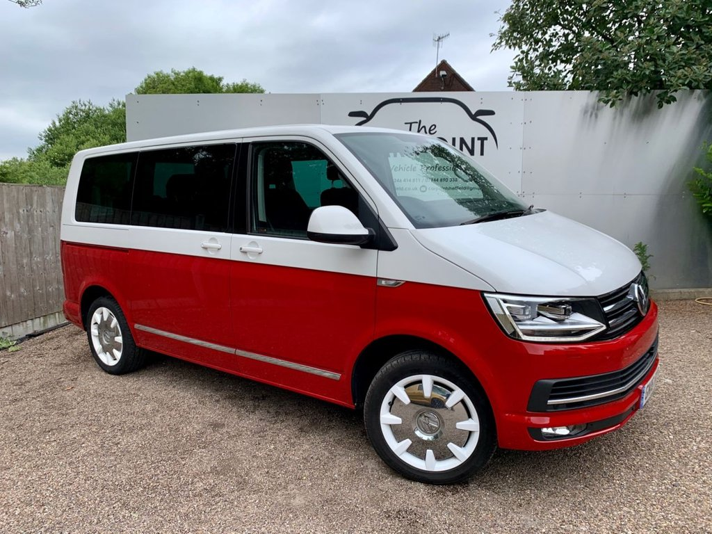 USED 2016 16 VOLKSWAGEN CARAVELLE 2.0 GENERATION SIX TDI BMT 5d AUTO 201 BHP