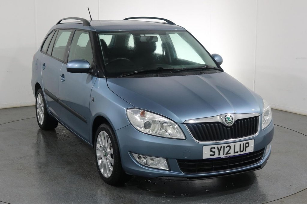 USED 2012 12 SKODA FABIA 1.6 ELEGANCE TDI CR ESTATE 5d 89 BHP 3 OWNERS with 8 Stamp SERVICE HISTORY