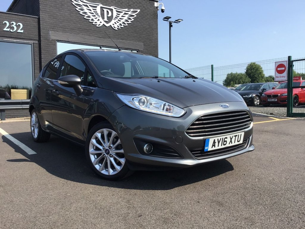 USED 2016 16 FORD FIESTA 1.5 TITANIUM X TDCI 5d 94 BHP Sony Navigation with DAB Radio