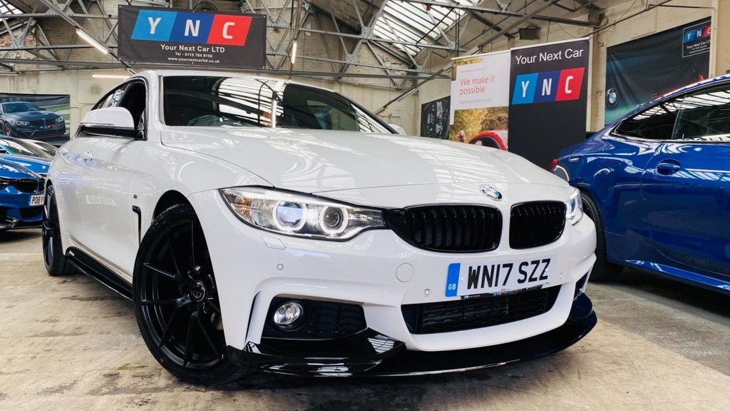 USED 2017 17 BMW 4 SERIES 2.0 420d M Sport Gran Coupe Auto (s/s) 5dr PERFORMANCEKIT+20S+XENONS