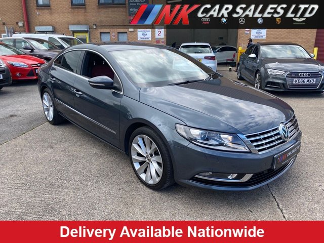 USED 2014 64 VOLKSWAGEN CC 2.0 GT TDI BLUEMOTION TECHNOLOGY 4d 138 BHP  TWO TONE LEATHER SAT NAV HEATED SEATS  TIMING BELT WATER PUMP DONE