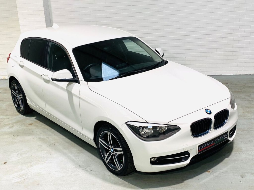 USED 2013 63 BMW 1 SERIES 2.0 116D SPORT 5d 114 BHP Low Mileage, Bluetooth, Privacy Glass, 6 Months Warranty included, £30 Tax