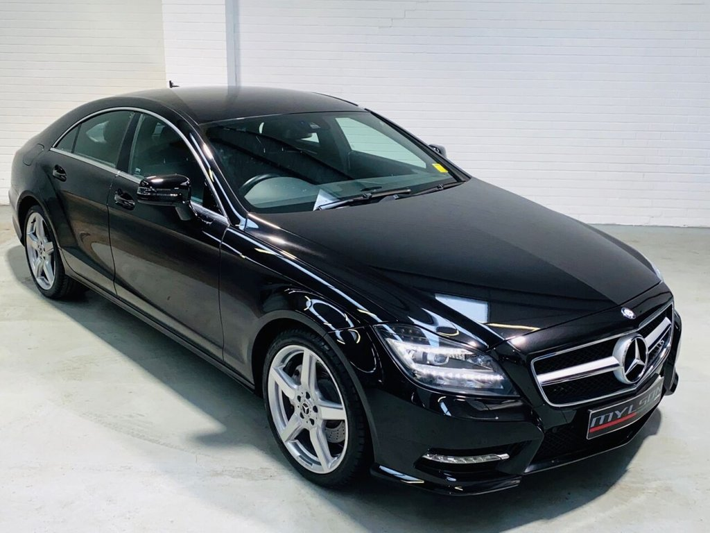 USED 2013 13 MERCEDES-BENZ CLS CLASS 3.0 CLS350 CDI BLUEEFFICIENCY AMG SPORT 4d 265 BHP Full Mercedes Main Dealer Service History, COMAND Media + Reverse Camera