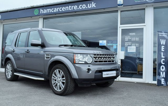 2009 59 LAND ROVER DISCOVERY 4 3.0 4 TDV6 HSE 5d AUTO 245 BHP