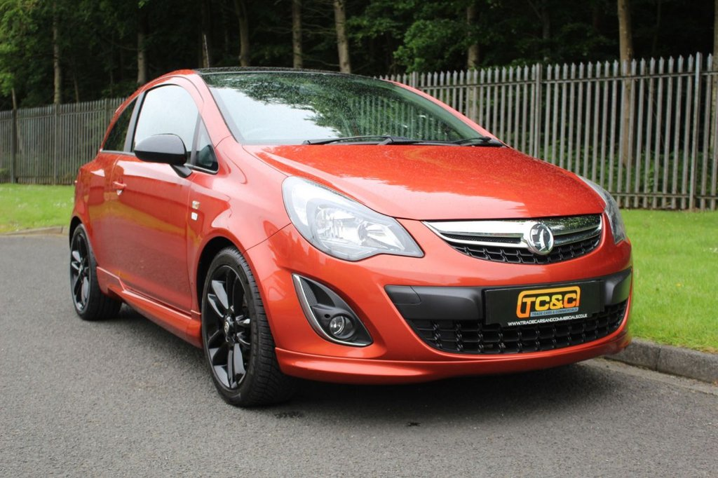 USED 2013 63 VAUXHALL CORSA 1.2 LIMITED EDITION 3d 83 BHP A LOW OWNER LIMITED EDITION CORSA WITH SERVICE HISTORY!!!