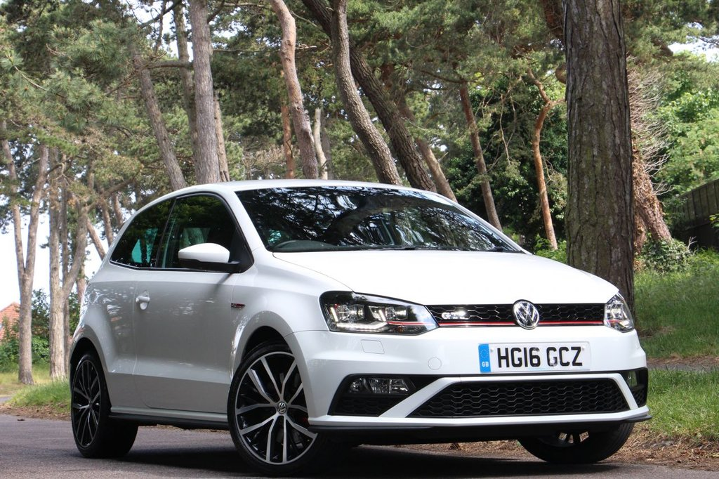 USED 2016 16 VOLKSWAGEN POLO 1.8 GTI 3d 189 BHP