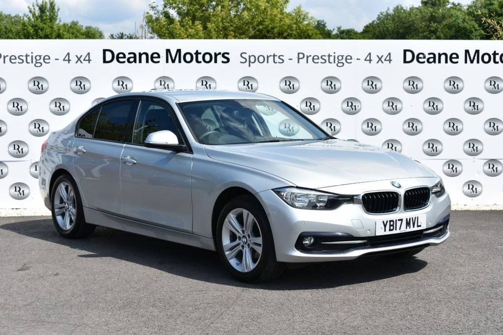 USED 2017 17 BMW 3 SERIES 2.0 318D SPORT 4d 148 BHP LEATHER