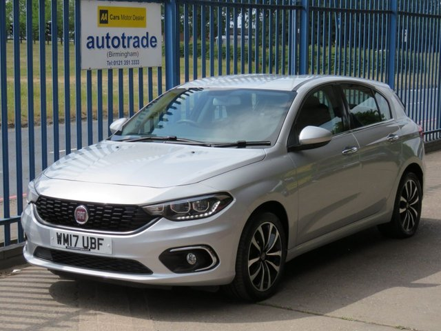USED 2017 17 FIAT TIPO 1.6 MULTIJET LOUNGE 5d 118 BHP Zero Road Tax & Great Economy