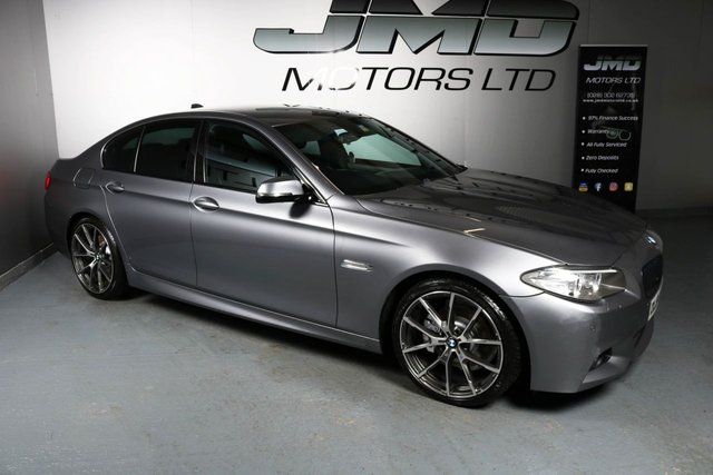 USED 2014 64 BMW 5 SERIES DECEMBER 2014 BMW 520D M SPORT AUTO 181 BHP (FINANCE AND WARRANTY)