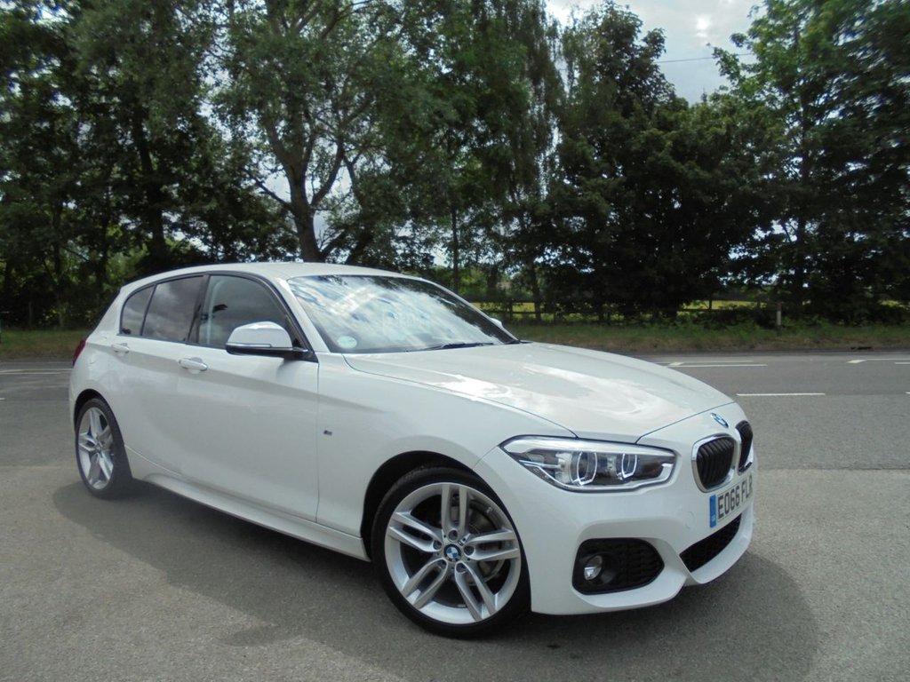 USED 2016 66 BMW 1 SERIES 1.5 118I M SPORT 5d 134 BHP