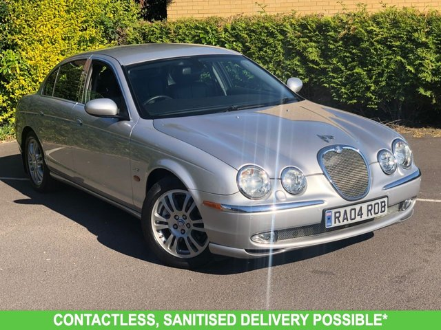 USED 2004 04 JAGUAR S-TYPE 2.5 V6 SE 4d 201 BHP 2 OWNERS AUTOMATIC VERY LOW MILEAGE, MANY EXTRAS.FINANCE ME TODAY-UK DELIVERY POSSIBLE