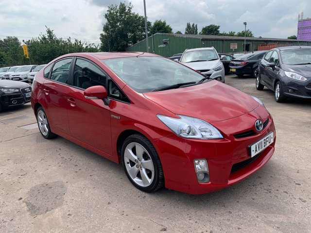 USED 2011 11 TOYOTA PRIUS 1.8 T SPIRIT VVT-I  5d 99 BHP FULL SERVICE HISTORY