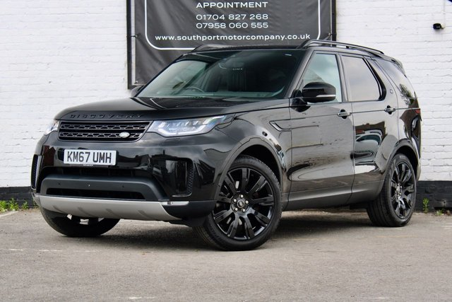 2017 67 LAND ROVER DISCOVERY 3.0 TD6 HSE LUXURY 5d 255 BHP
