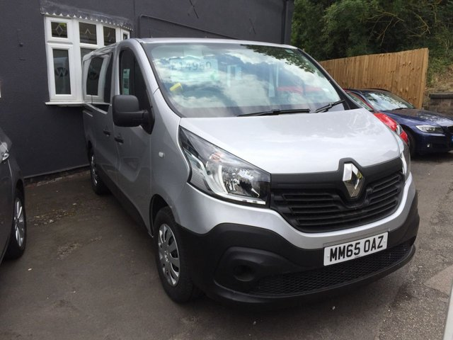 2015 65 RENAULT TRAFIC 1.6 SL29 BUSINESS ENERGY DCI 5d 125 BHP