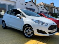 USED 2017 17 FORD FIESTA 1.2 ZETEC 3d 81 BHP COMES WITH 6 MONTHS WARRANTY