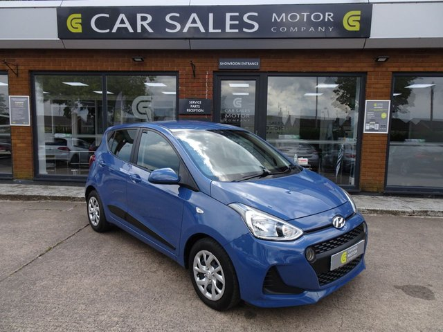 USED 2017 17 HYUNDAI I10 1.0 SE 5d 65 BHP FULL HYUNDAI SERVICE HISTORY, 2 YEAR WARRANTY REMAINING WITH HYUNDAI, 12 MONTHS MOT UPON PURCHASE, JUST SERVICED, BLUETOOTH, DAB RADIO, CRUISE CONTROL, 5 STAR RATED DEALERSHIP