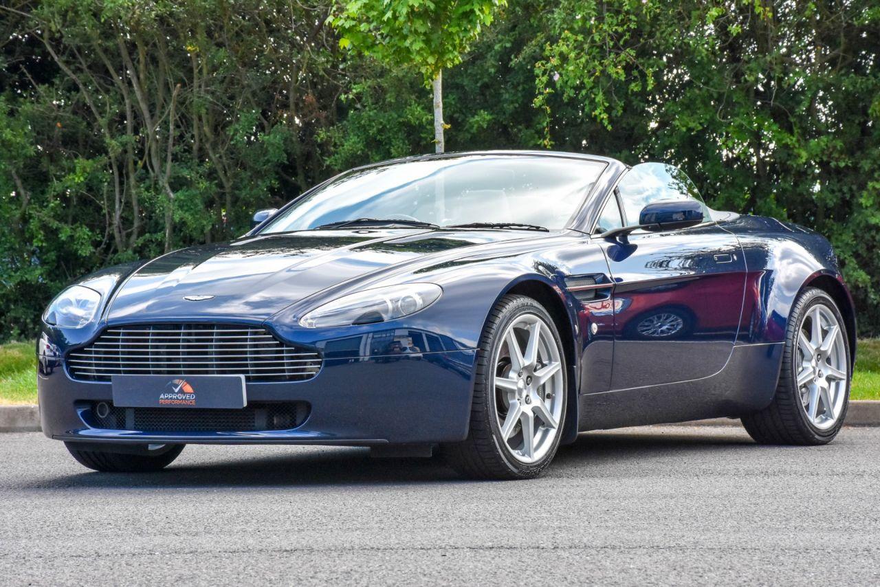2008 Aston Martin Vantage V8 Roadster 40 950