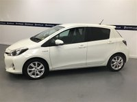 USED 2012 62 TOYOTA YARIS 1.5 T SPIRIT HYBRID  5d 75 BHP (Brand New Hybrid Battery)